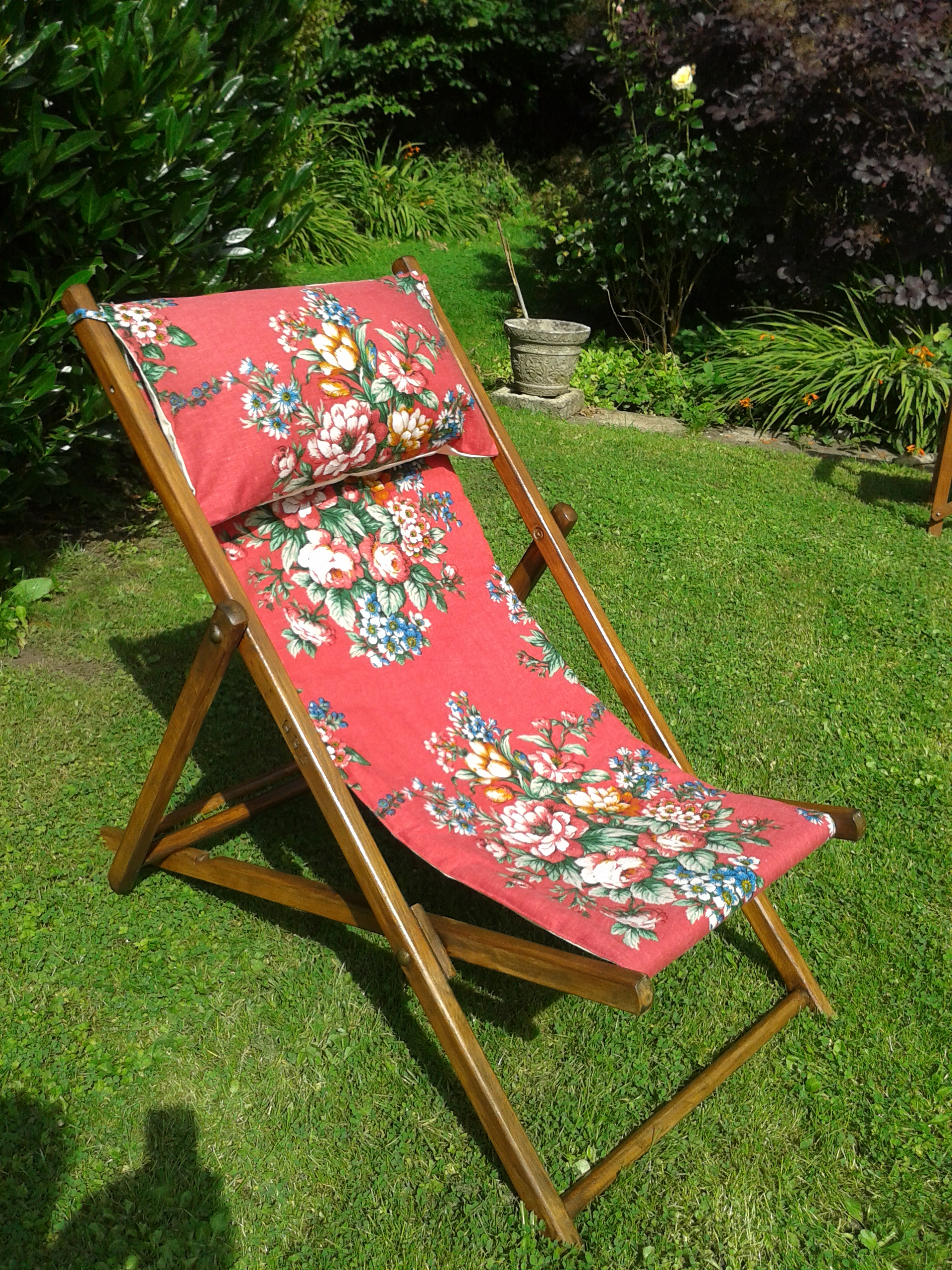 teak deck chair adirondack white wood projects diy pretty plans chairs ana